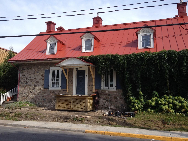 Maison turenne maisons traditionnelles des patriotes for Bourcier porte et fenetre